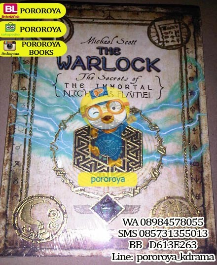 harga Novel secrets of the immortal nicholas flamel : the warlock Tokopedia.com
