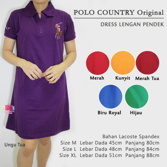 Flavia Store Dress Lengan Pendek Pundak Bolong ... Source · Polo country original -