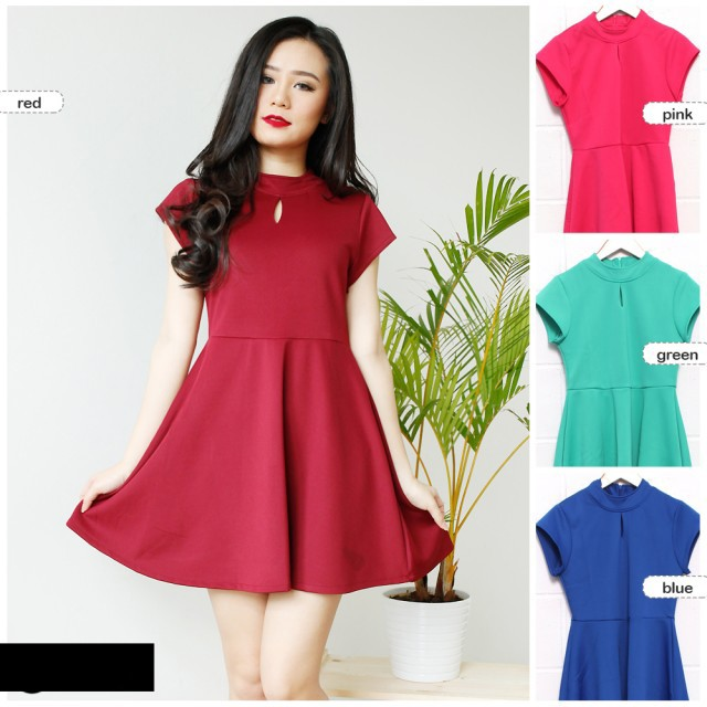 Dress Pesta / Dress Party / Mini Dress / Dress Polos / Dress Wanita