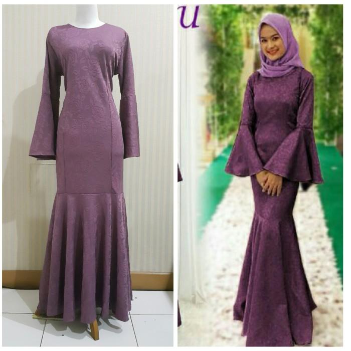 Jual Setelan Hijab Pesta Gamis Murah Baju Pesta Muslimah Dress