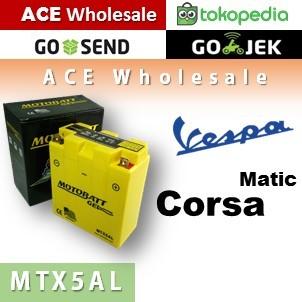 harga Aki kering/ vespa/ corsa matic/ mtx5al/ motobatt u: yuasa/ gs ll Tokopedia.com