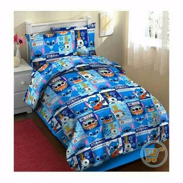 Jual Sprei Stitch And Scrump Alas Tempat Tidur Perlengkapan Kamar