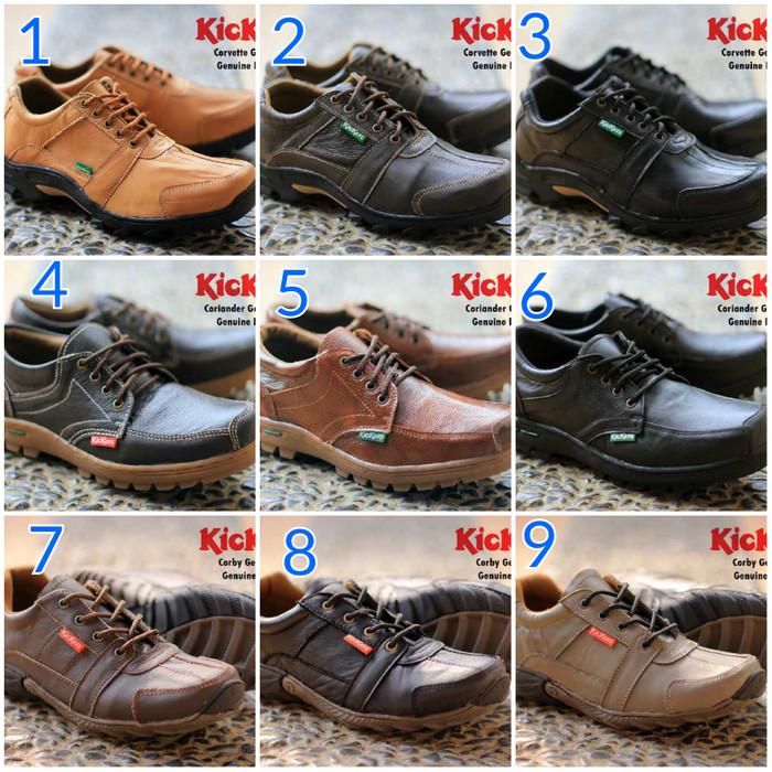 harga Sepatu kickers coriander loafer kulit asli original handmade Tokopedia.com