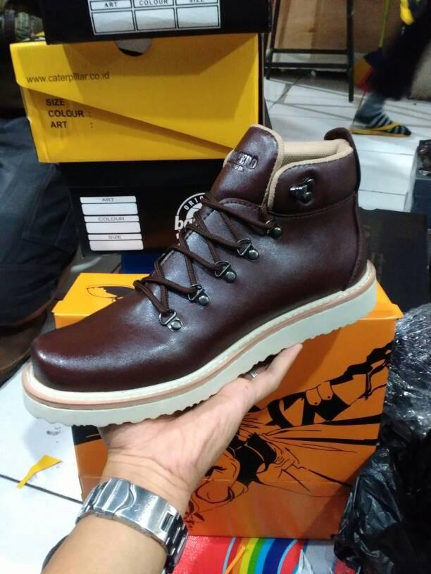 9f2b1ef1a6fdfe harga Sepatu boots kasual pria keren real pict dondicero ring star best  sell Tokopedia.com