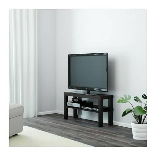 harga Rak meja tv modern minimalis ikea lack putih Tokopedia.com