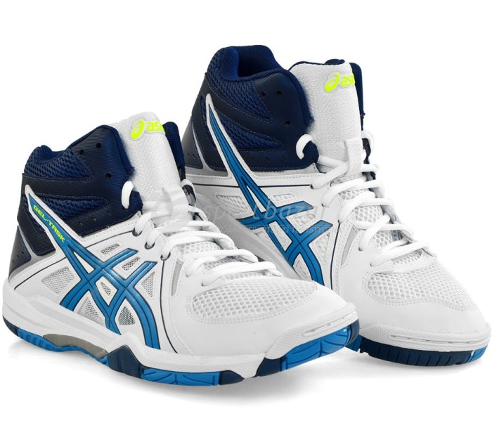 Jual  Original  Sepatu Volley   Basket ASICS GEL-TASK MT MID White ... fc3bf25833
