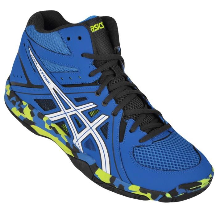 Jual  Original  Sepatu Volley   Basket ASICS GEL-TASK MT MID Blue ... 24cb9bc23c
