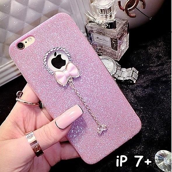harga Soft case crystal glitter bow for iphone 7+ plus Tokopedia.com