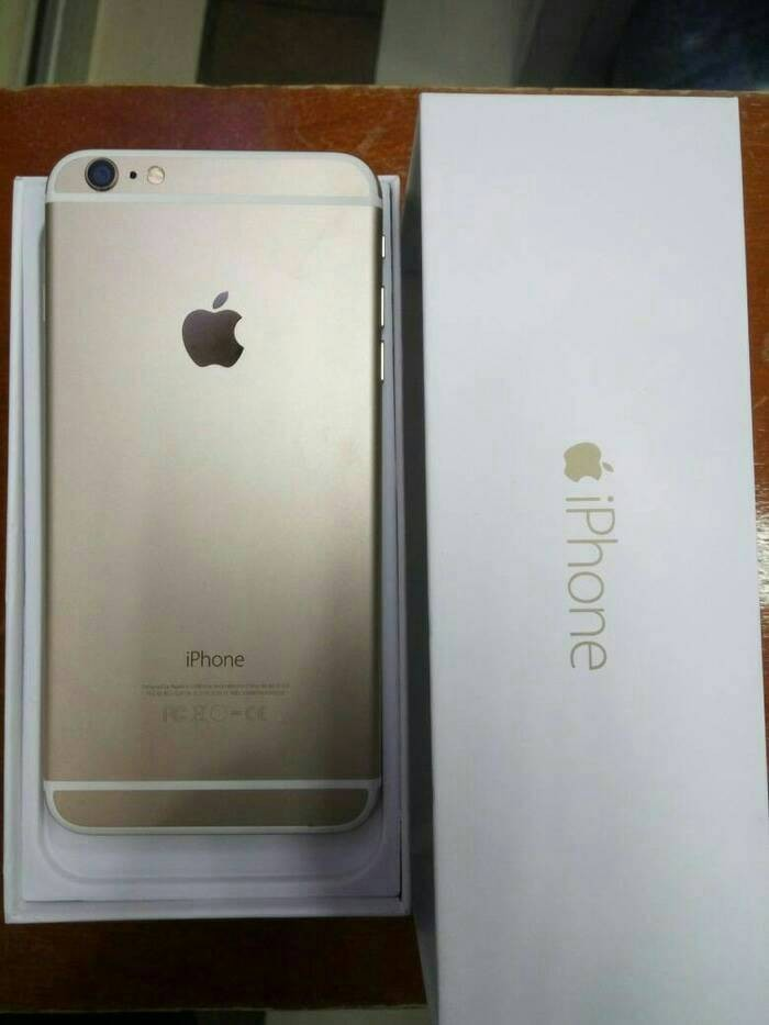 Jual iphone 6 128gb gold second ex internasional - indo mobile ... a12f42ecd8