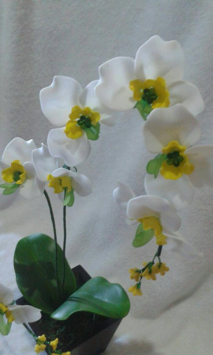 Jual Bunga Hias Akrilik Cantik Kota Bengkulu Galeri Mas Ben