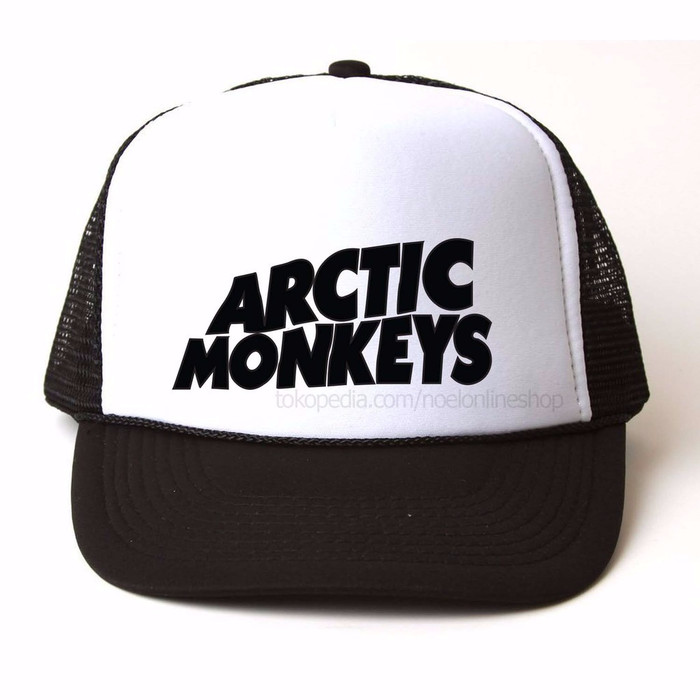 Jual Topi Trucker Head Topi Band Trucker Artic Monkeys Sablon 64c10c181c