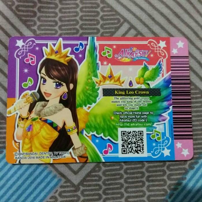 Jual Aikatsu! card King Leo Crown (Kartu Aikatsu) - Kota Bandung - Miu  Aikatsu | Tokopedia