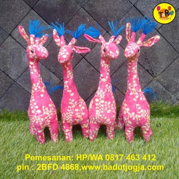 harga Boneka batik jerapah 30cm Tokopedia.com