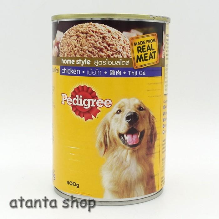 harga Pedigree Chicken Kaleng 400g Kornet Anjing Tokopedia.com