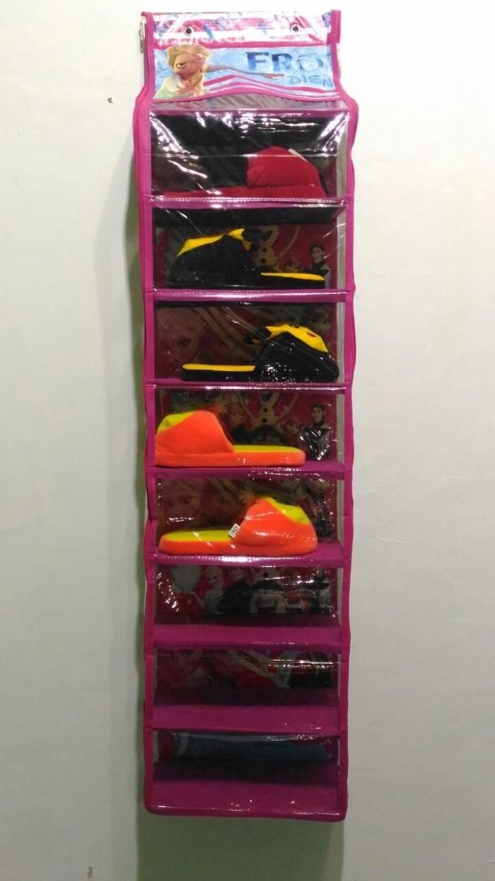 Rak Sepatu Gantung Hanging Shoes Organizer Hso Hello Kitty Pink Tas Princess Bag Fuschia Karakter