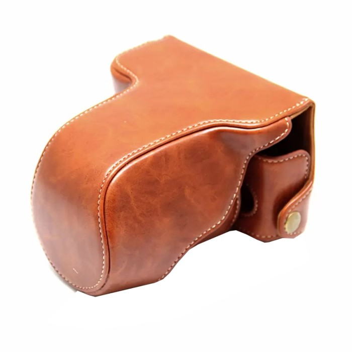 harga Rajawali leather case for fujifilm x-a3 - coklat/brown Tokopedia.com