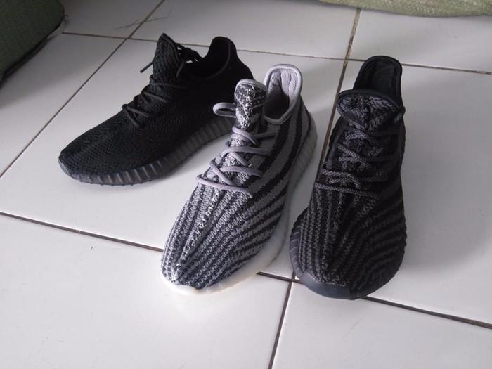 fa11d464ff175 Jual Promo sepatu pria adidas yeezy boost 550 premium class ringan ...