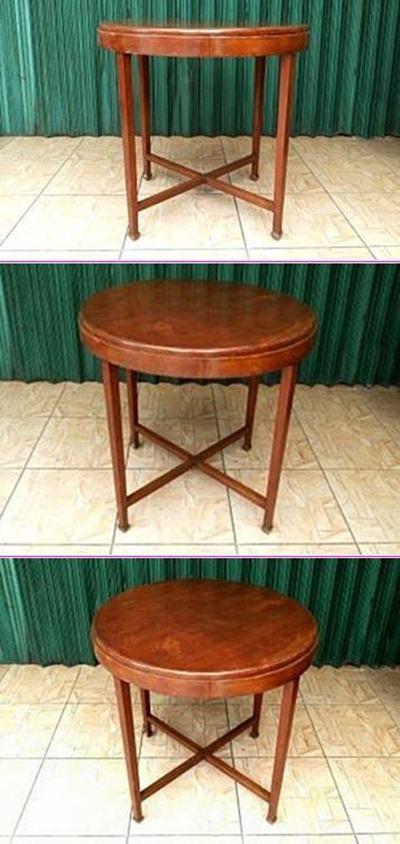 vintage art deco furniture. VINTAGE ART DECO SOFA TABLE / MEJA TAMU KAKI TAHU 14110 UXI Vintage Art Deco Furniture