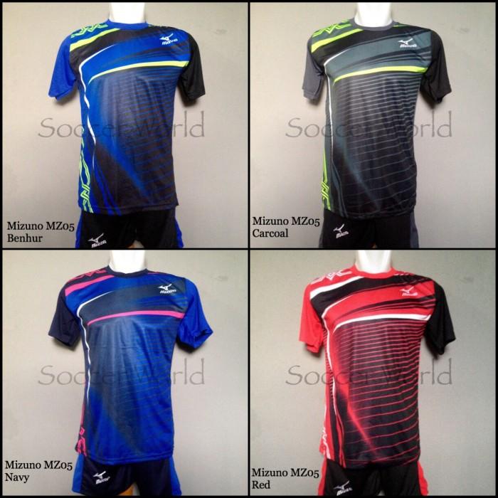 Jual Baju Kaos Olahraga Seragam Volley Setelan Voli Mizuno MZ05 ... c3e4eace7c