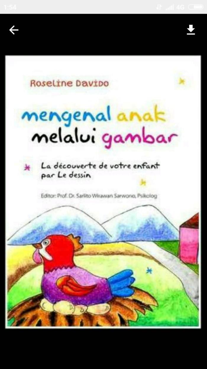 harga Mengenal anak melalui gambar penulis : roseline davido | sarlito w. o Tokopedia.com