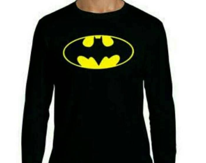 harga Kaos pria tshirt longsleeve batman Tokopedia.com