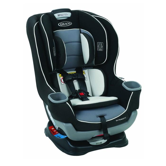 Jual Graco Extend2fit Convertible Car Seat 8aq006ot Gotham Vnr Baby Collection Tokopedia