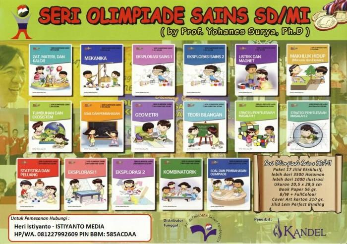 Foto Produk 17 Buku Olimpiade Matematika dan IPA SD dari Toko Buku Olimpiade