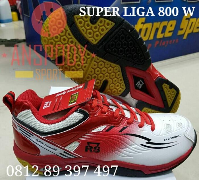 harga Sepatu rs super liga 800 putih/merah Tokopedia.com