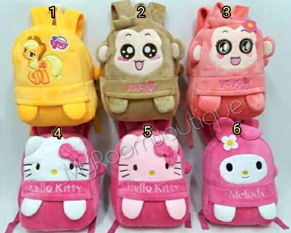 harga Import tas sekolah ransel anak boneka kitty melody cici yoyo 37cm Tokopedia.com