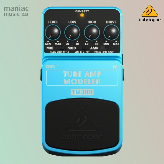 harga Behringer tm300 (tube amp modelling pedal efek stompbox gitar/bass) Tokopedia.com