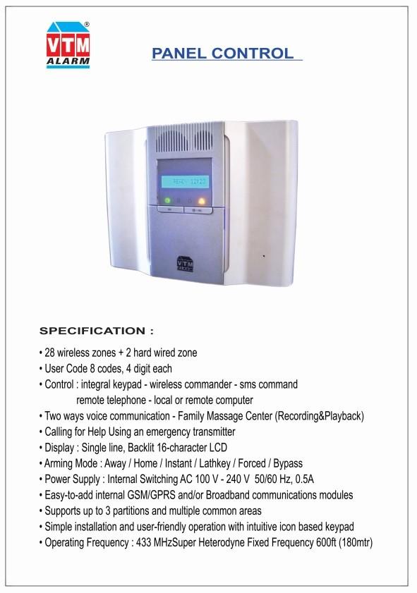 Paket Alarm VTM Made In Japan Hindari Perampok