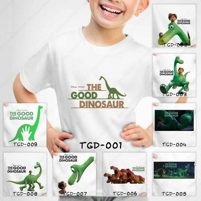 harga Baju kaos anak cowo/cewe the good dinosaurus Tokopedia.com
