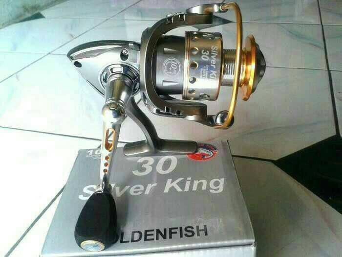 Jual Reel Golden fish SILVER KING 30 KEKUATAN 13 KG - Toko Rama28 ... 36a393b3ec