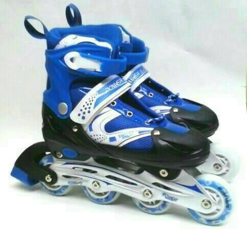 harga Sepatu roda model bajaj / inline skate anak dan dewasa Tokopedia.com