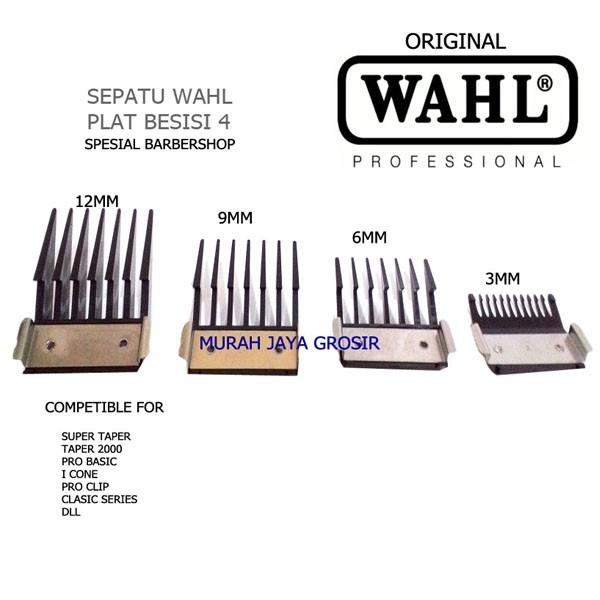 Foto Produk Sepatu Wahl Plat Besi ORIGINAL isi 4pcs competrible for Wahl dari murah jaya grosir