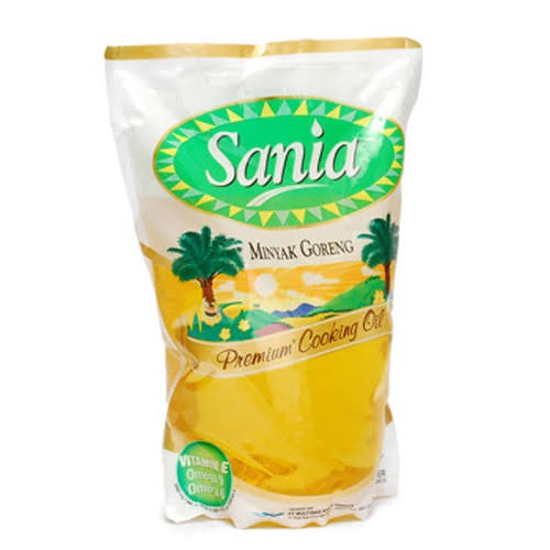 harga Sania minyak goreng 2 liter pouch Tokopedia.com