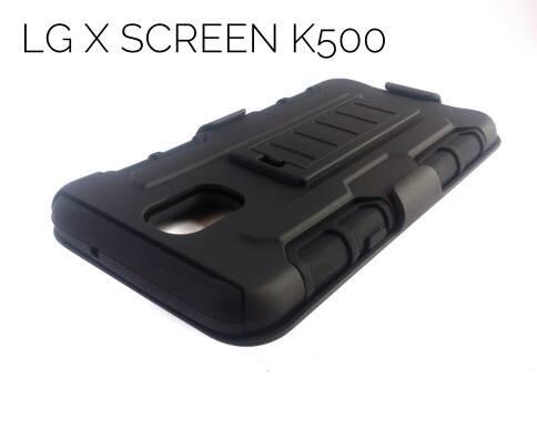 harga Lg x screen k500 future hybrid armor case stand with beltclip holster Tokopedia.com