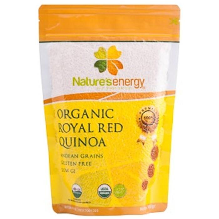 harga Nature's energy organic royal red quinoa 500gr Tokopedia.com