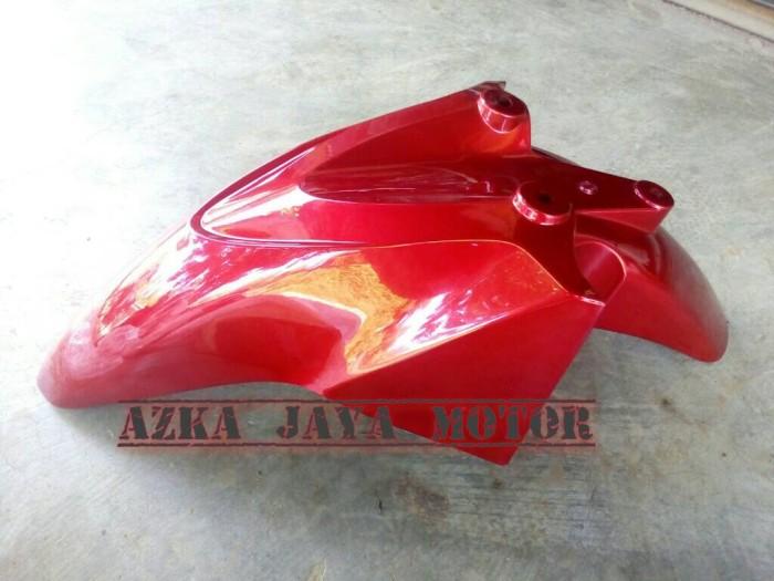 Spakbor Depan Honda Vario Techno 110 lama merah marun
