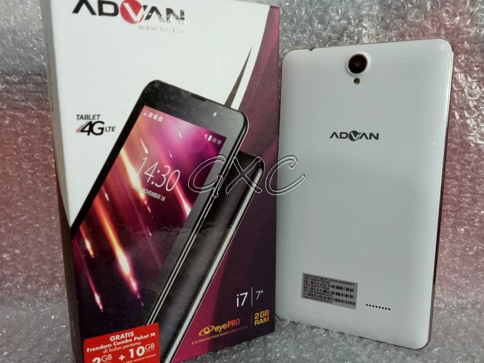 TABLET ADVAN MURAH 4G RAM 2GB I7 NEW