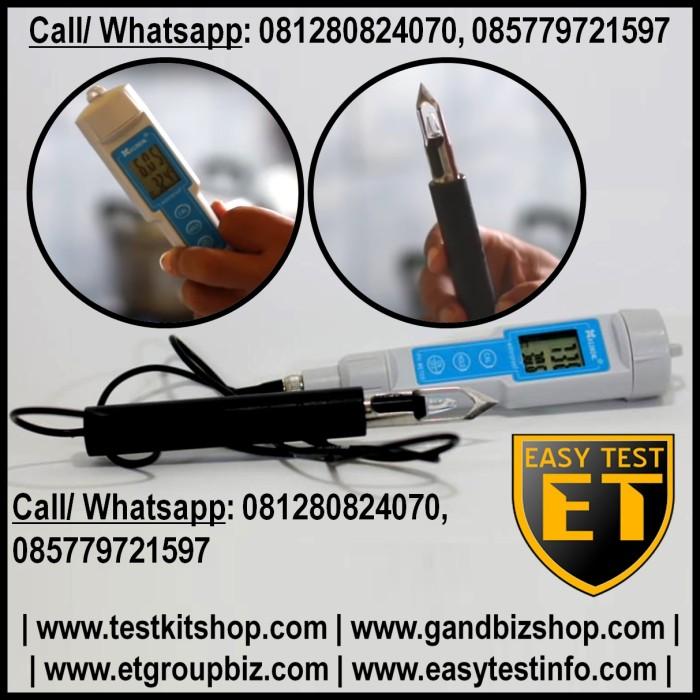 Foto Produk pH Meter Digital untuk Daging atau Buah MURAH dari easytest