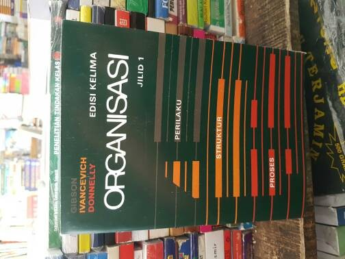 harga Organisasi edisi 5 jilid 1 by gibson ivancevich Tokopedia.com