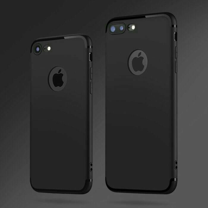 harga Ultra soft silicon case iphone 6/6+/7/7 plus (free tempered glass) Tokopedia.com