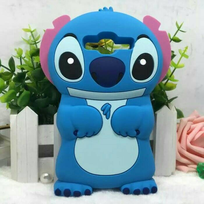 Jual Case 4D Stitch Samsung Galaxy A3 LAMA A300 Karakter