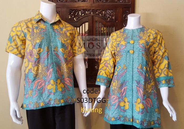 harga Atasan batik couple doby motif ganggang batik pekalongan Tokopedia.com