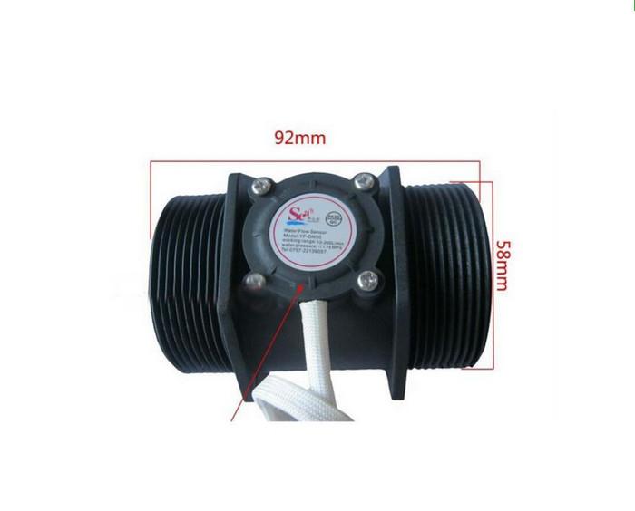 harga Liquid water flow sensor meter 2 inchi inch 2  sensor aliran air Tokopedia.com
