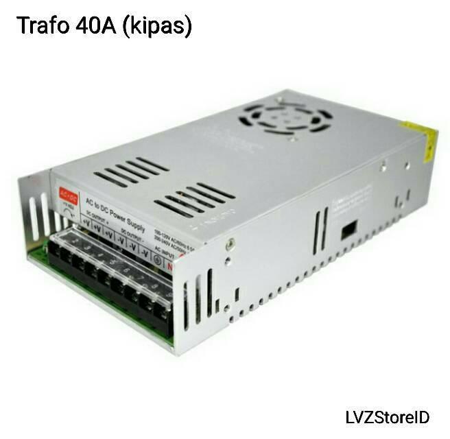 harga Trafo strip led adaptor cctv 12v 40a Tokopedia.com