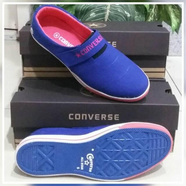 Sepatu converse slip on women harga Sepatu converse slip on women  Tokopedia.com 56e3ec525b