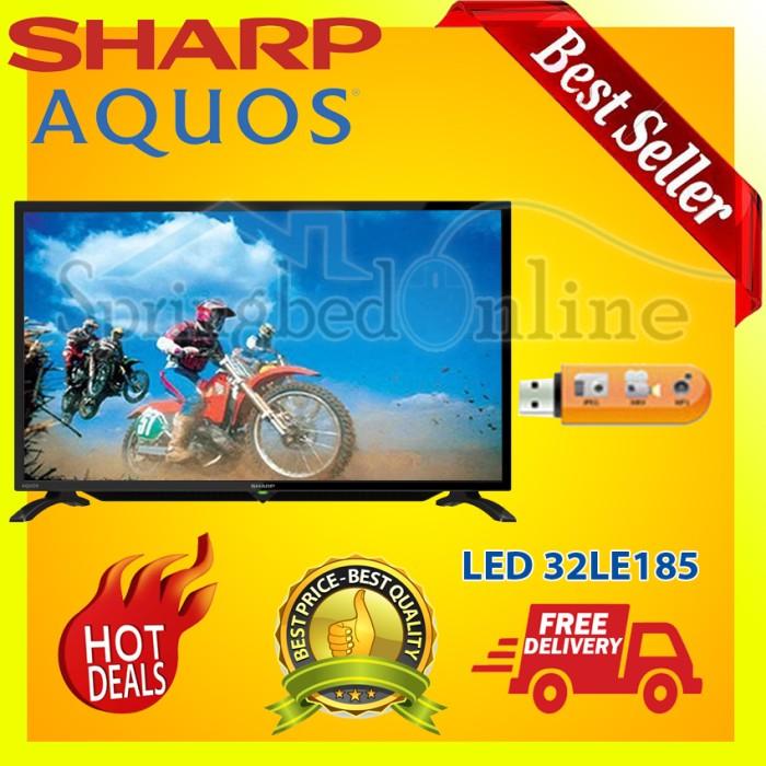 harga Sharp aquos 32 /32 inch led tv 32le185 usb - harga pabrik Tokopedia.com