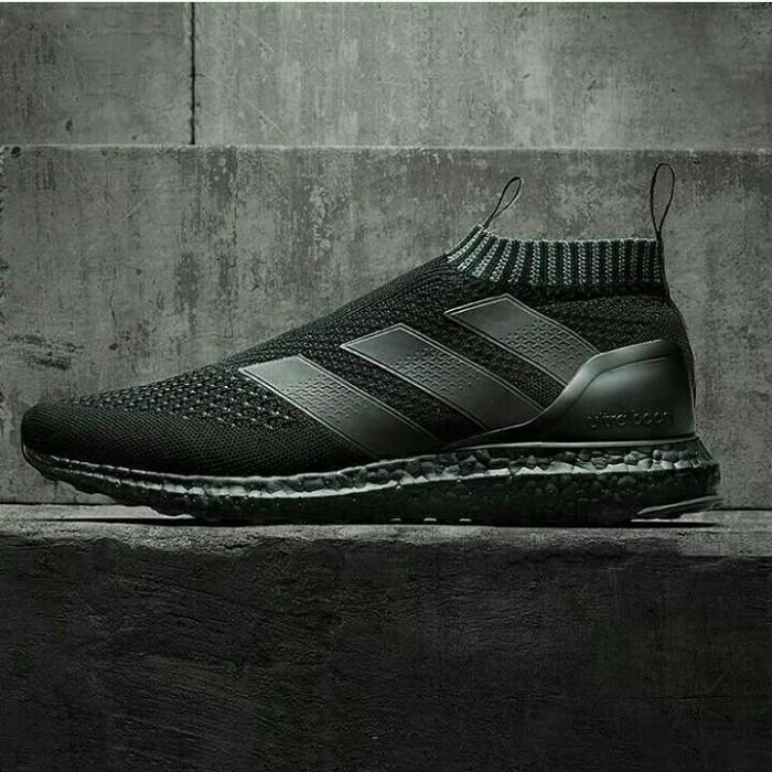 5f08cdf90e495 ... Harga Adidas Ace16 Pure Control Ultra Boost Triple Black  PremiumSpotharga.com Informasi Harga Sepatu ...